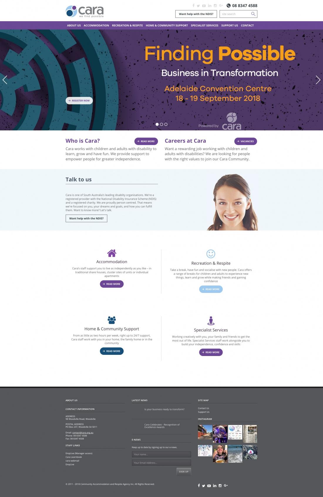 Cara Karmabunny Web Design