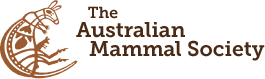 Logo for The Australian Mammal Society - View website design