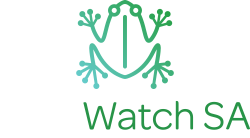 Logo for Frogwatch SA - View website design